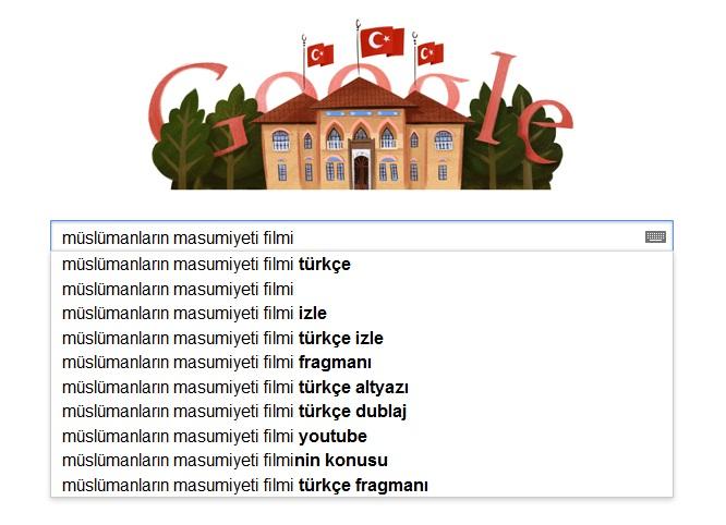 İslama Hakaret Eden Film ve Google
