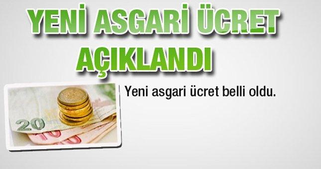 2013 Asgari ücret zammı fiyatları
