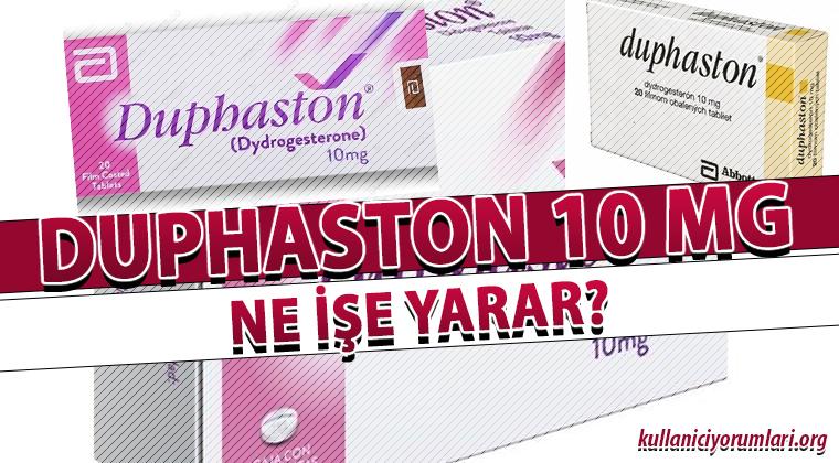 Duphaston 10 Mg Ne İşe Yarar